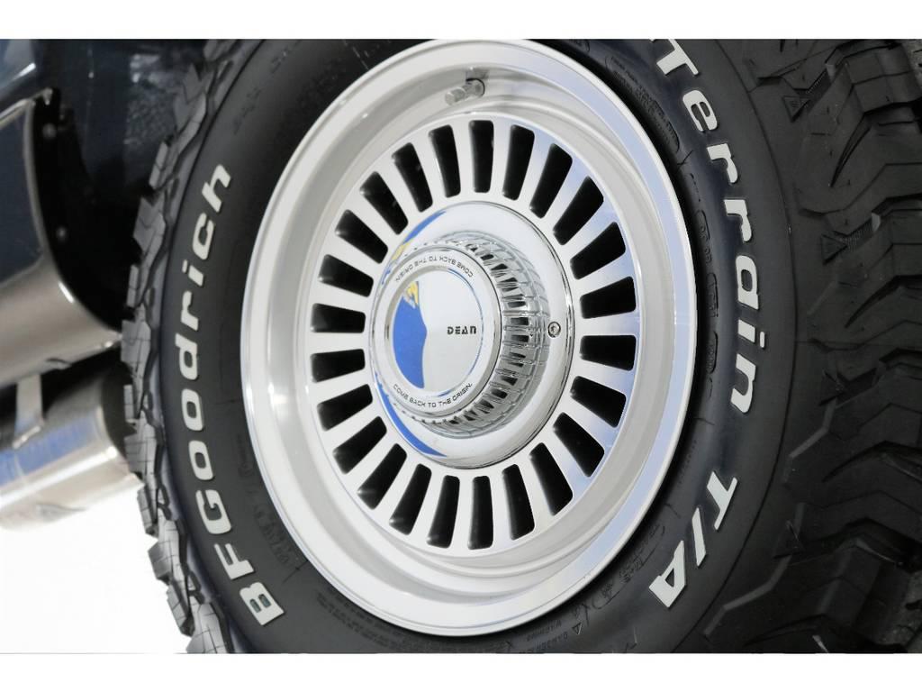 新品DEANカルフォルニア&BFグッドリッチ☆ | トヨタ ランドクルーザー80 4.5 VXリミテッド 4WD 86 HDDナビ シートカバー
