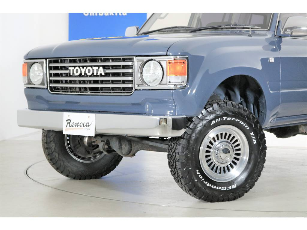 メッキバンパー☆ | トヨタ ランドクルーザー80 4.5 VXリミテッド 4WD 86 HDDナビ シートカバー