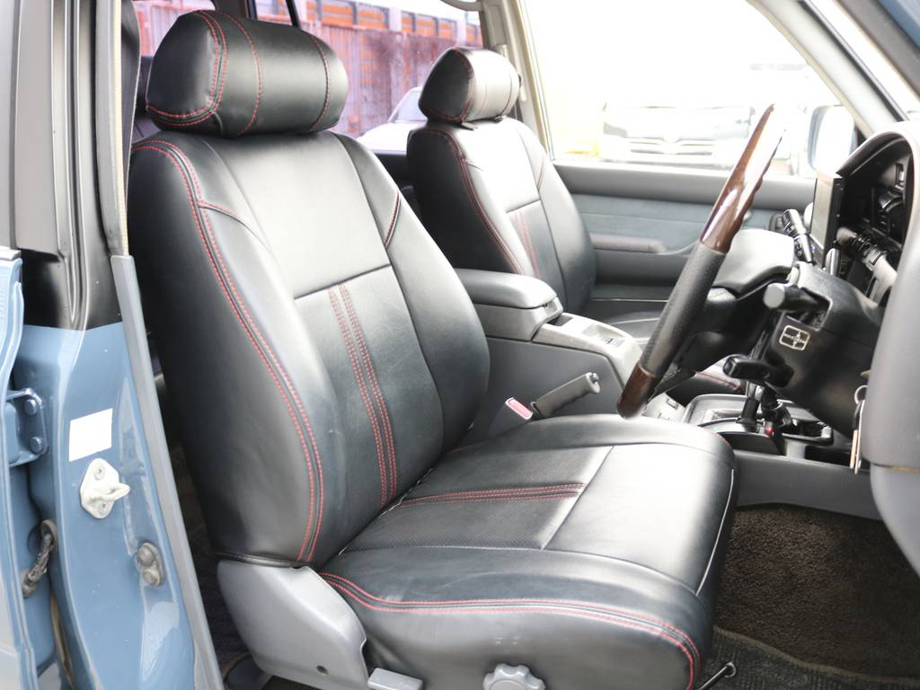 シートカバー装着済み☆ | トヨタ ランドクルーザー80 4.5 VXリミテッド 4WD 86 HDDナビ シートカバー