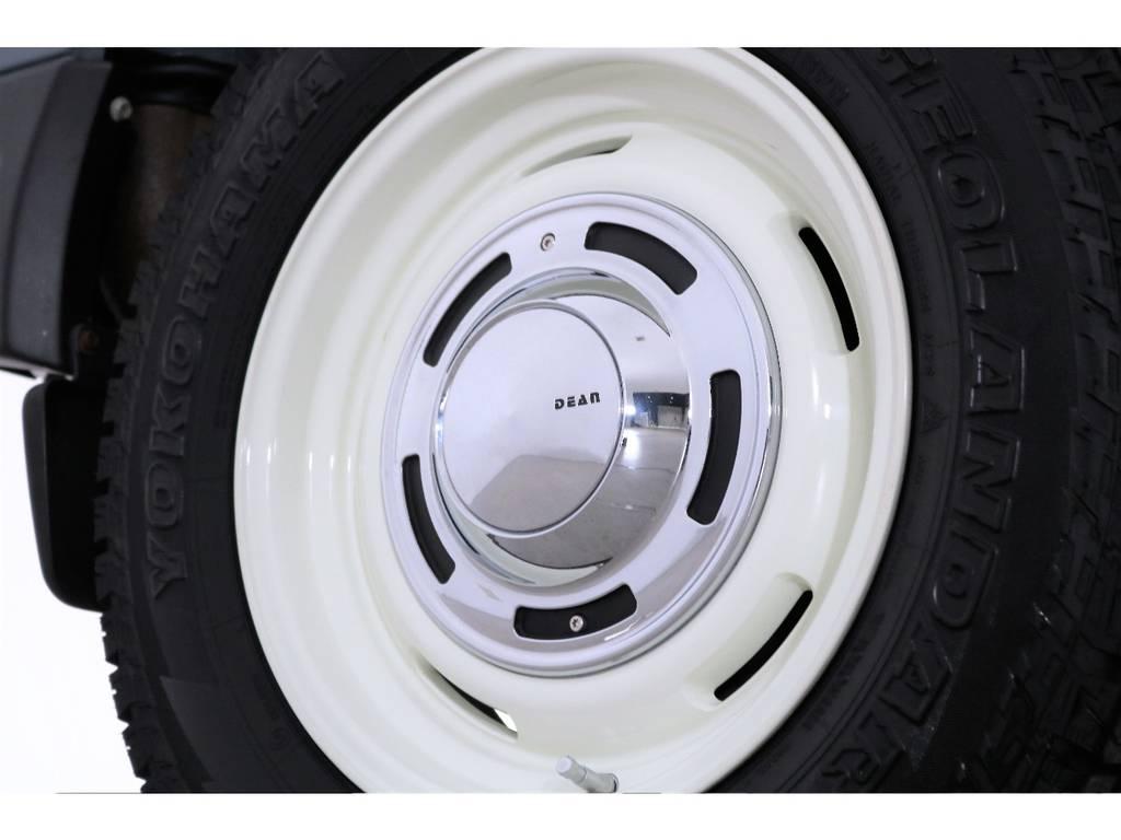 新品でDEANクロスカントリーAWにヨコハマジオランダーを装着済み! | スズキ ジムニー 660 XL 4WD オートマ DEANホイール