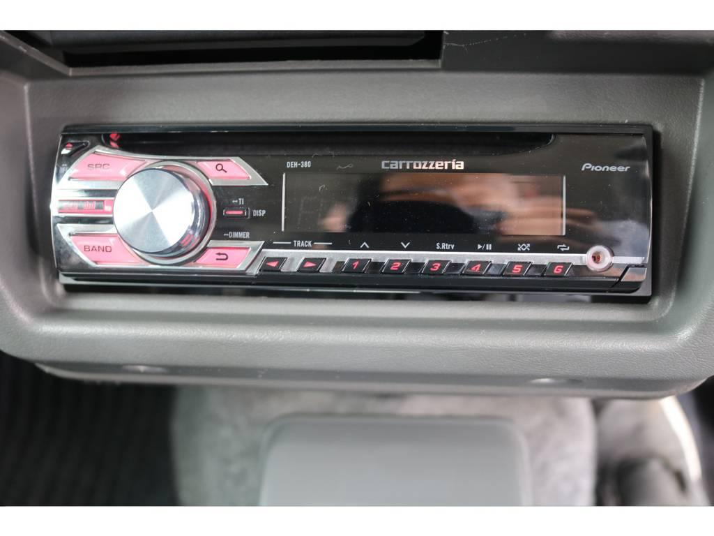 オーディオも装着済み! | スズキ ジムニー 660 XL 4WD オートマ DEANホイール