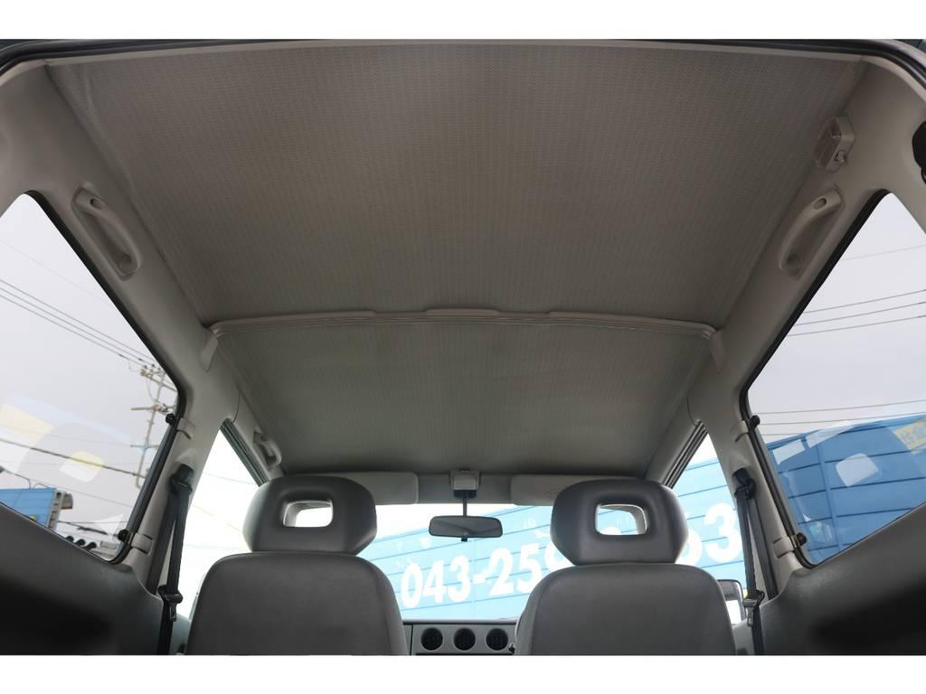 天井のヘタリも無くこれからも大切に乗って頂きたい1台です☆ | スズキ ジムニー 660 XL 4WD オートマ DEANホイール