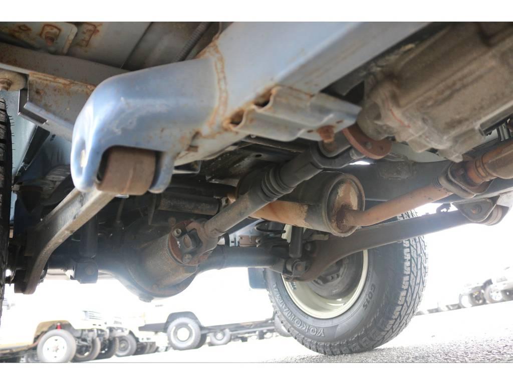 ご納車時には、足回りに錆止め防止を施しご納車させて頂きます☆ | スズキ ジムニー 660 XL 4WD オートマ DEANホイール