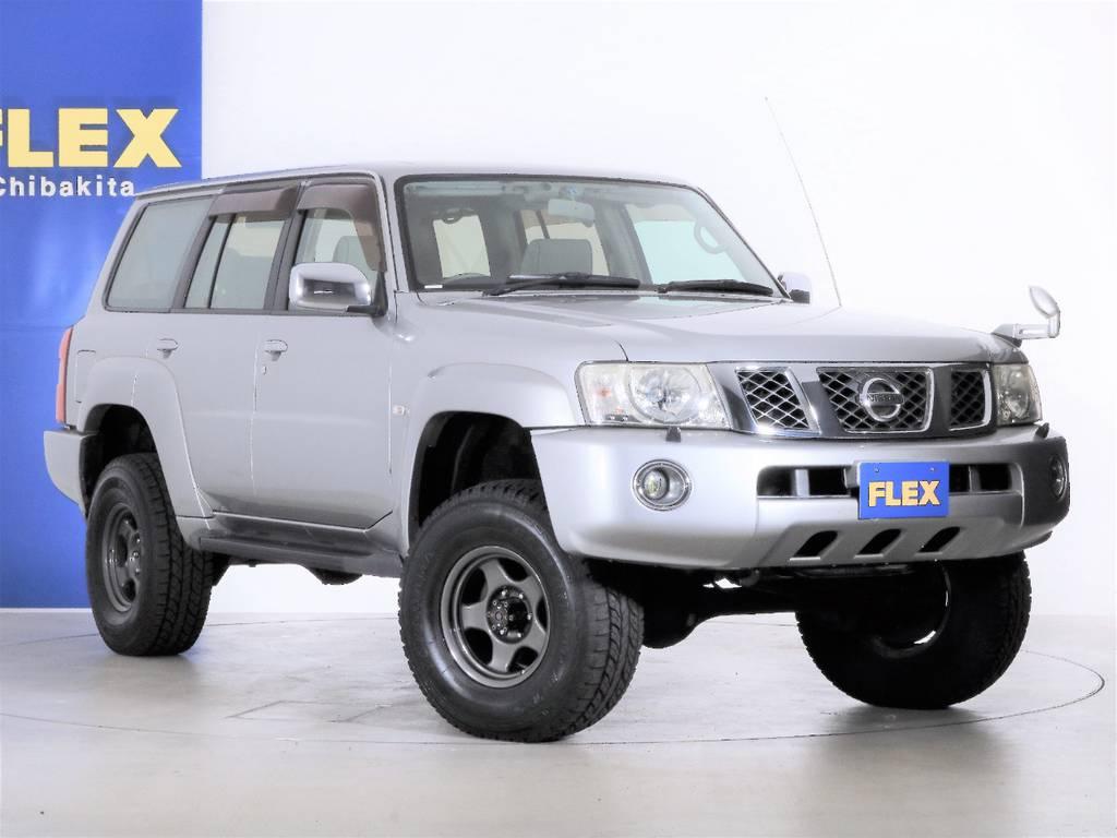 各種任意保険、オートローンも扱っておりますのでお気軽にご相談ください。 | 日産 サファリ 4.8 グランロードリミテッド 4WD 3インチUP SDナビ 最終型
