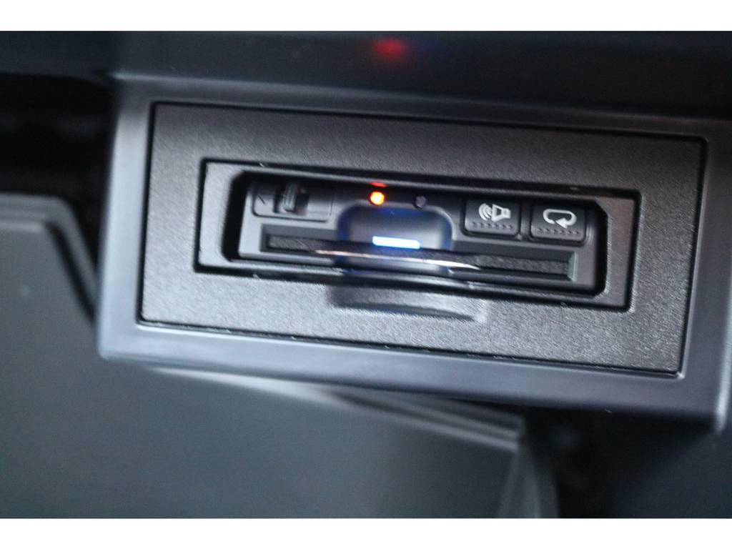 スマートに収納されたETCはスペースを有効に活用する事が出来ます☆ | トヨタ ランドクルーザープラド 2.7 TX Lパッケージ 4WD 新車未登録車 11インチナビ