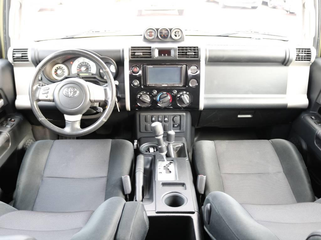 FJクルーザーならではのおしゃれな内装! | 米国トヨタ FJクルーザー  新車並行車 コンプリートカー