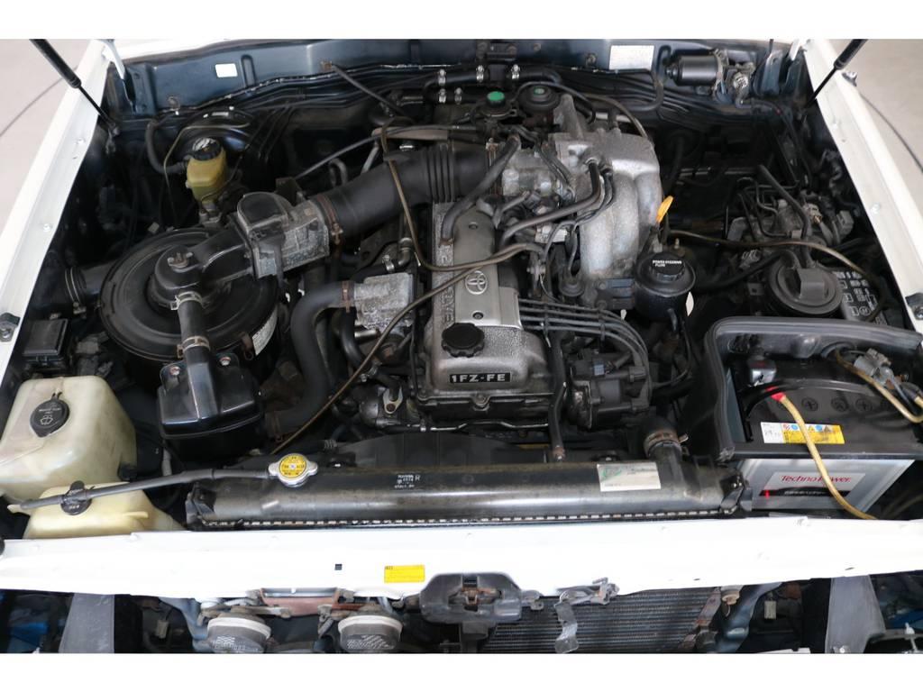 店舗敷地内に工場完備ですので車検から整備までお任せください。 | トヨタ ランドクルーザー80 4.5 VX 4WD 86 丸目 コンプリートモデル