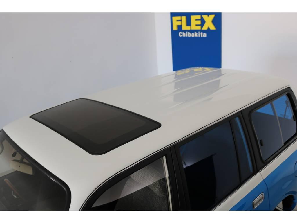 あったらうれしいサンルーフ付き! | トヨタ ランドクルーザー80 4.5 VX 4WD 86 丸目 コンプリートモデル