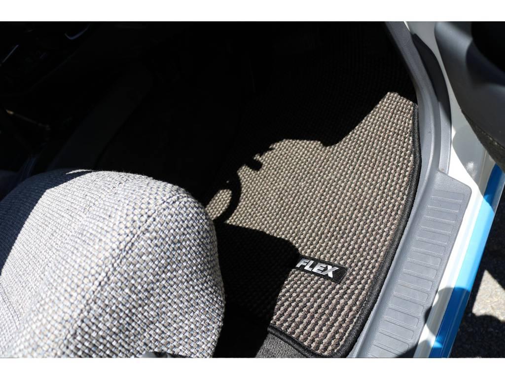 新品FLEXオリジナルフロアマットで足元もおしゃれに! | トヨタ ランドクルーザー80 4.5 VX 4WD 86 丸目 コンプリートモデル