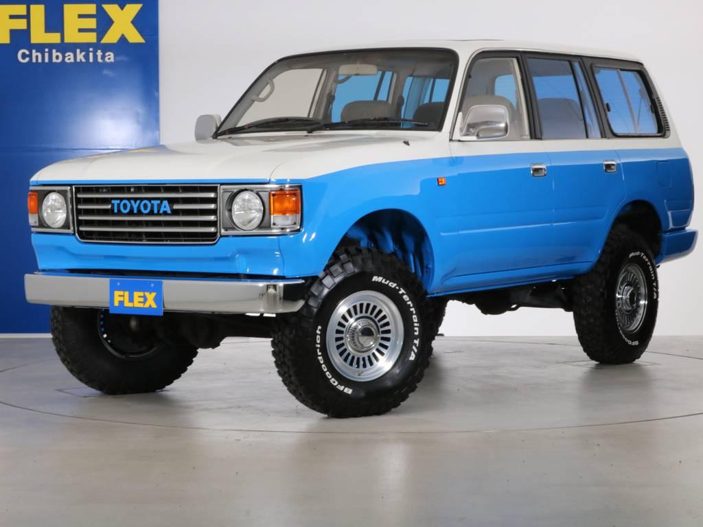 各種任意保険、オートローンも扱っておりますのでお気軽にご相談ください。 | トヨタ ランドクルーザー80 4.5 VX 4WD 86 丸目 コンプリートモデル