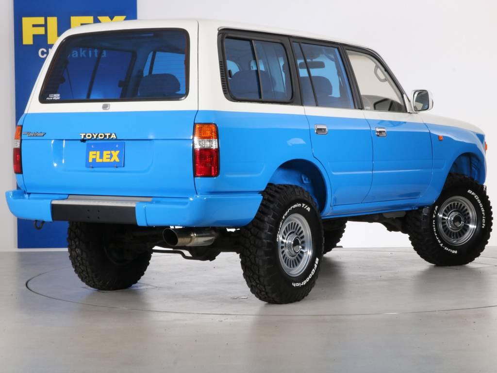 ご不明な点、ご質問等がございましたらお気軽にランクル千葉北店スタッフまでお聞きください。 | トヨタ ランドクルーザー80 4.5 VX 4WD 86 丸目 コンプリートモデル