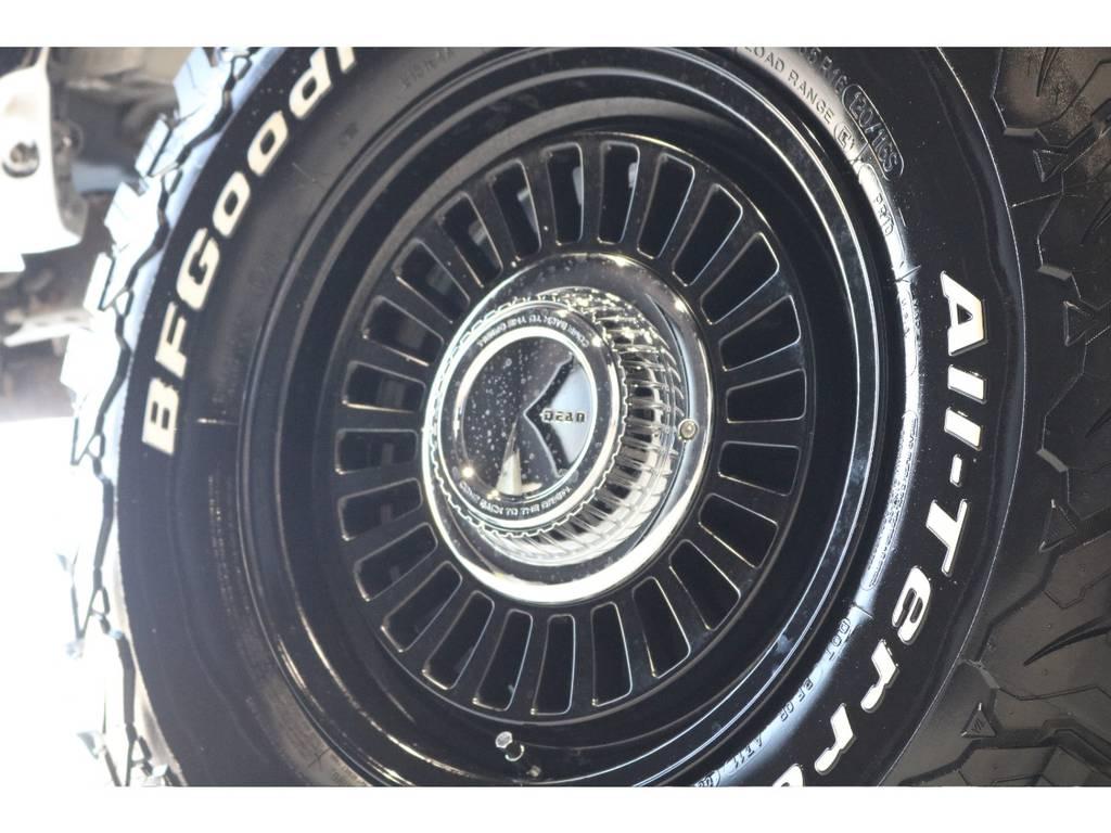 新品DEANカルフォルニア16インチホイール&新品BFグッドリッチATタイヤを装着致しました!   トヨタ ハイラックスサーフ 2.7 SSR-X ワイドボディ 4WD ニューペイント ペッパーホワイト