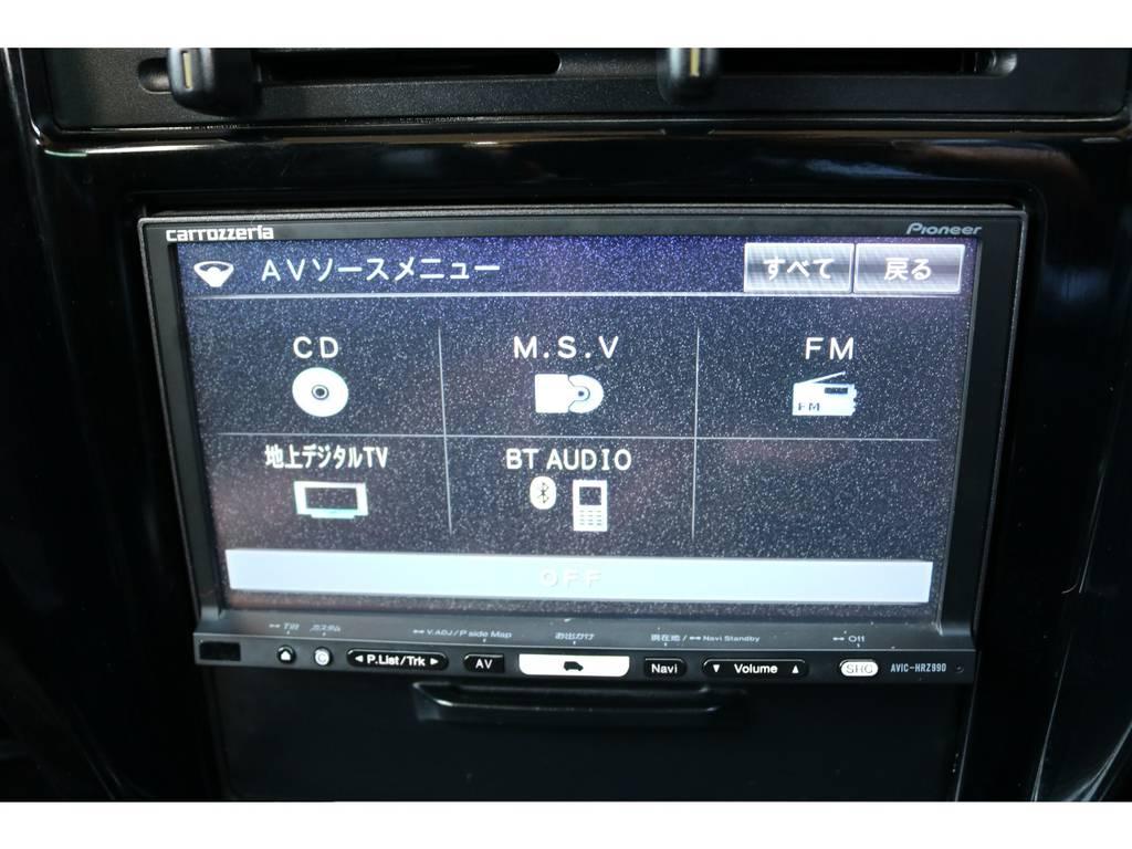 地デジ対応ADナビも装着済み! | トヨタ ハイラックスサーフ 2.7 SSR-X ワイドボディ 4WD ニューペイント ペッパーホワイト