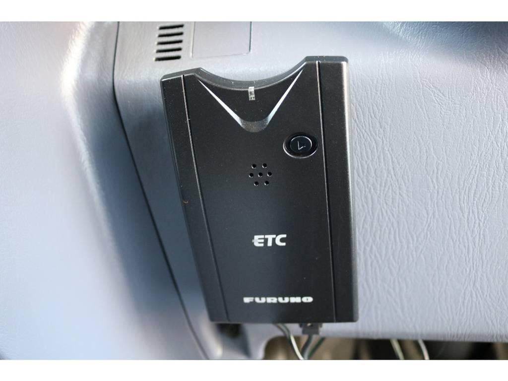 必需品のETCも完備! | トヨタ ハイラックスサーフ 2.7 SSR-X ワイドボディ 4WD ニューペイント ペッパーホワイト