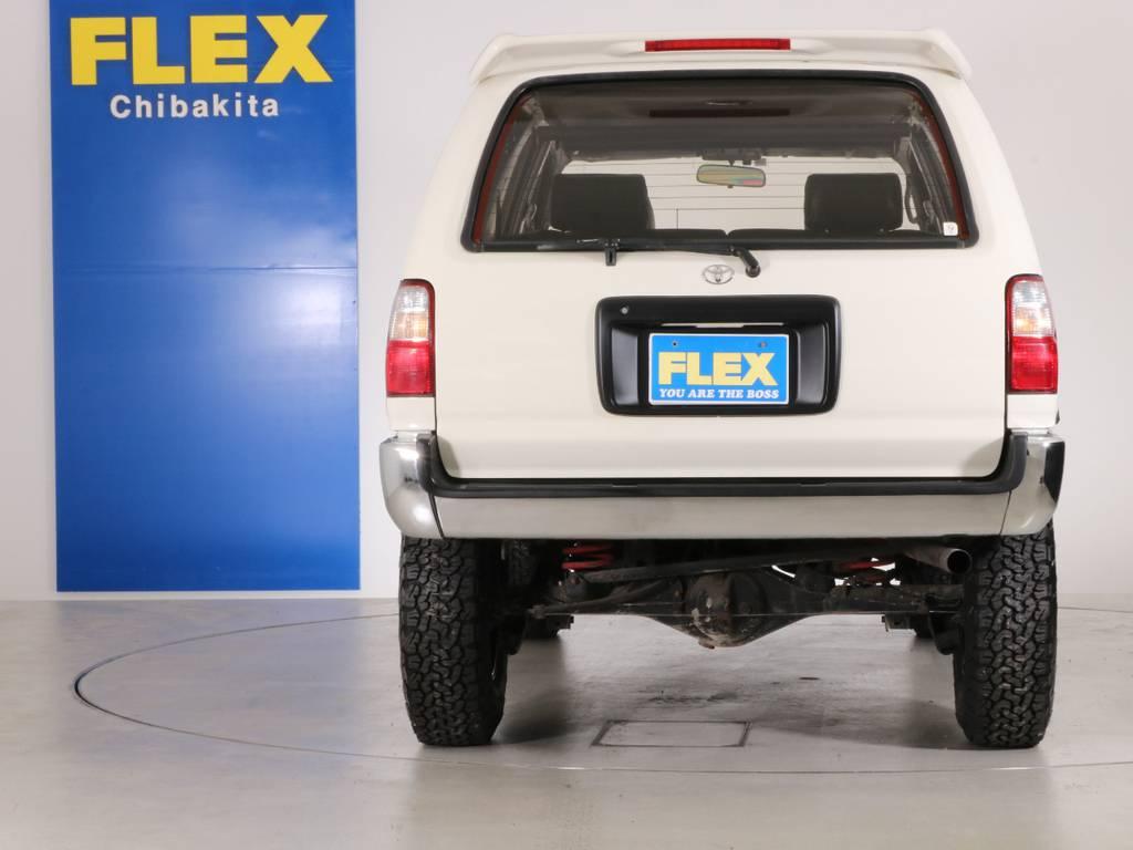 US仕様でおしゃれにカスタム!   トヨタ ハイラックスサーフ 2.7 SSR-X ワイドボディ 4WD ニューペイント ペッパーホワイト