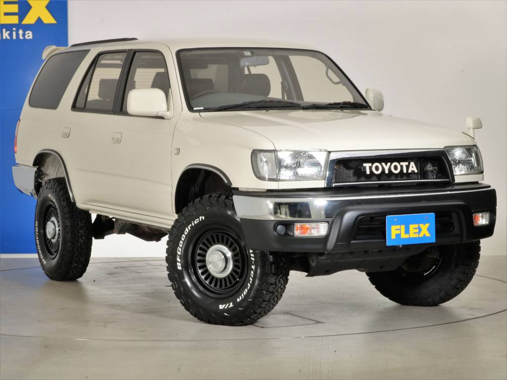 各種任意保険、オートローンも扱っておりますのでお気軽にご相談ください。   トヨタ ハイラックスサーフ 2.7 SSR-X ワイドボディ 4WD ニューペイント ペッパーホワイト