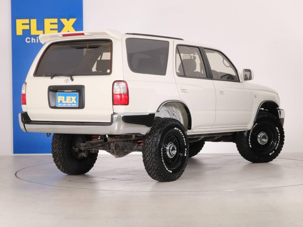 ご不明な点、ご質問等がございましたらお気軽にランクル千葉北店スタッフまでお聞きください。 | トヨタ ハイラックスサーフ 2.7 SSR-X ワイドボディ 4WD ニューペイント ペッパーホワイト