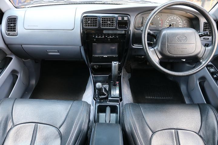 2インチUPにDEANカルフォルニアホイールでおしゃれにカスタムされております!   トヨタ ハイラックスサーフ 2.7 SSR-X ワイドボディ 4WD