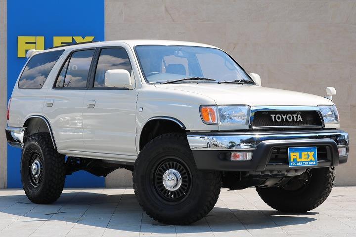 各種任意保険、オートローンも扱っておりますのでお気軽にご相談ください。   トヨタ ハイラックスサーフ 2.7 SSR-X ワイドボディ 4WD