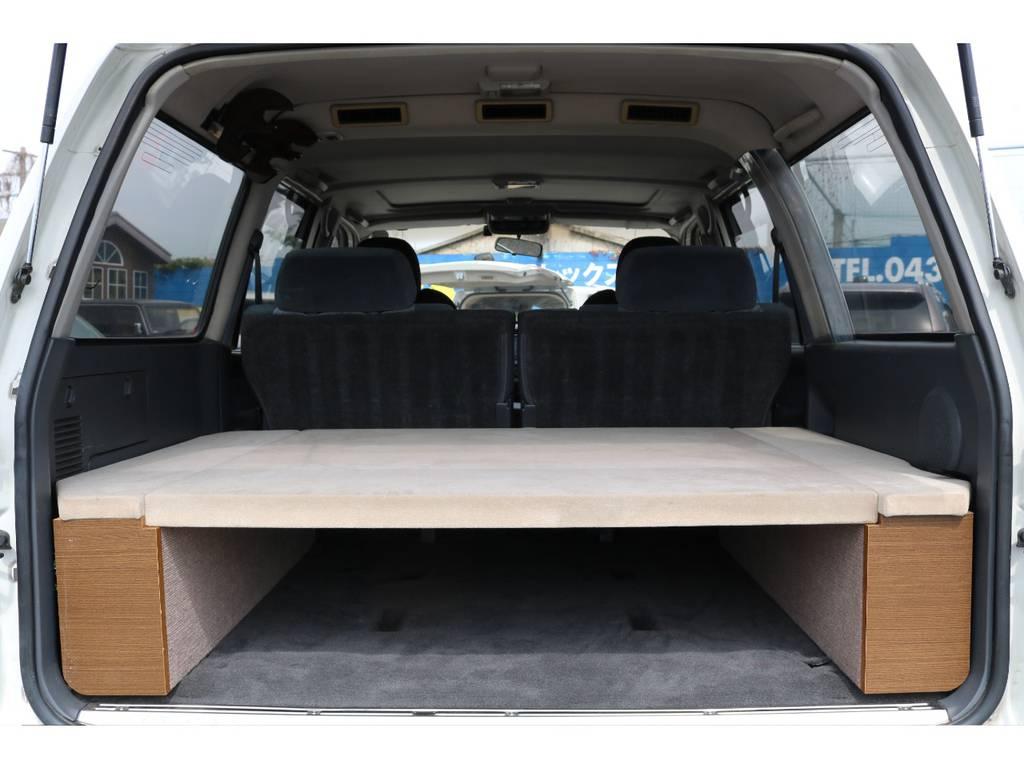 キャンピングキットを積んでありますが、外すことも可能です! | トヨタ ランドクルーザー80 4.5 VX 4WD 5速MT OPデフロック