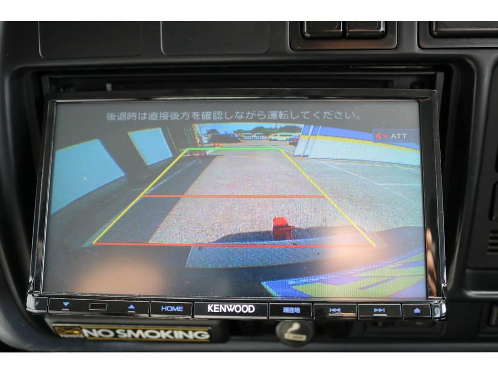 あったら嬉しいバックカメラ付き   トヨタ ランドクルーザー80 4.5 VXリミテッド 4WD 5インチUP クロカン仕様