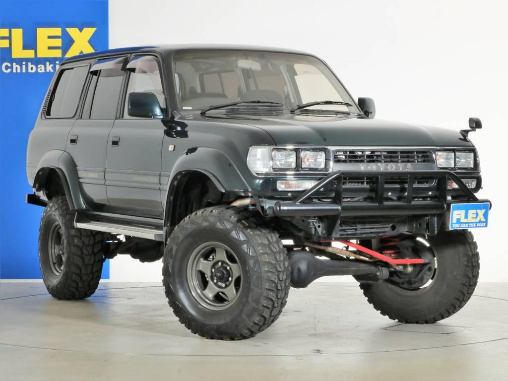 各種任意保険、オートローンも扱っておりますのでお気軽にご相談ください。   トヨタ ランドクルーザー80 4.5 VXリミテッド 4WD 5インチUP クロカン仕様