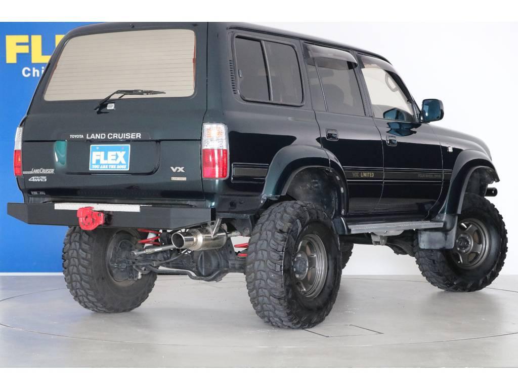 ご不明な点、ご質問等がございましたらお気軽にランクル千葉北店スタッフまでお聞きください。   トヨタ ランドクルーザー80 4.5 VXリミテッド 4WD 5インチUP クロカン仕様