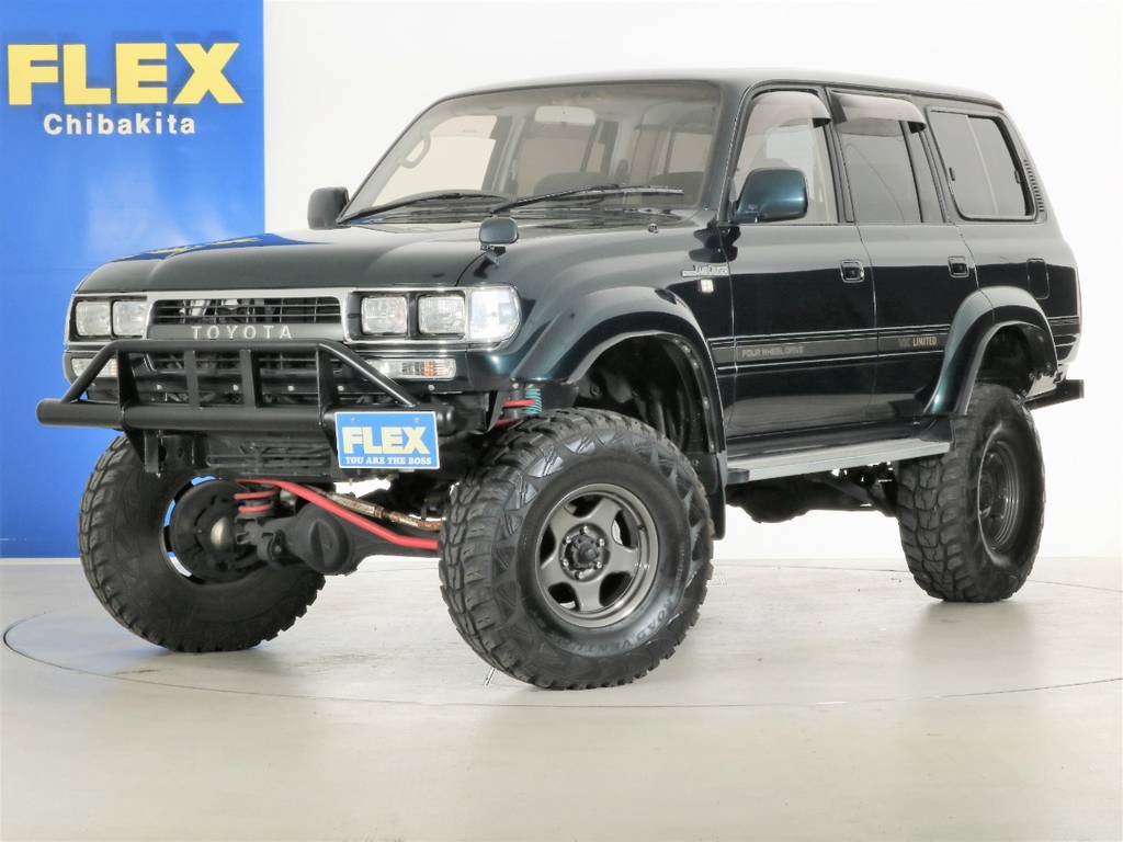 クロカン仕様のランクル80が入庫致しました!   トヨタ ランドクルーザー80 4.5 VXリミテッド 4WD 5インチUP クロカン仕様