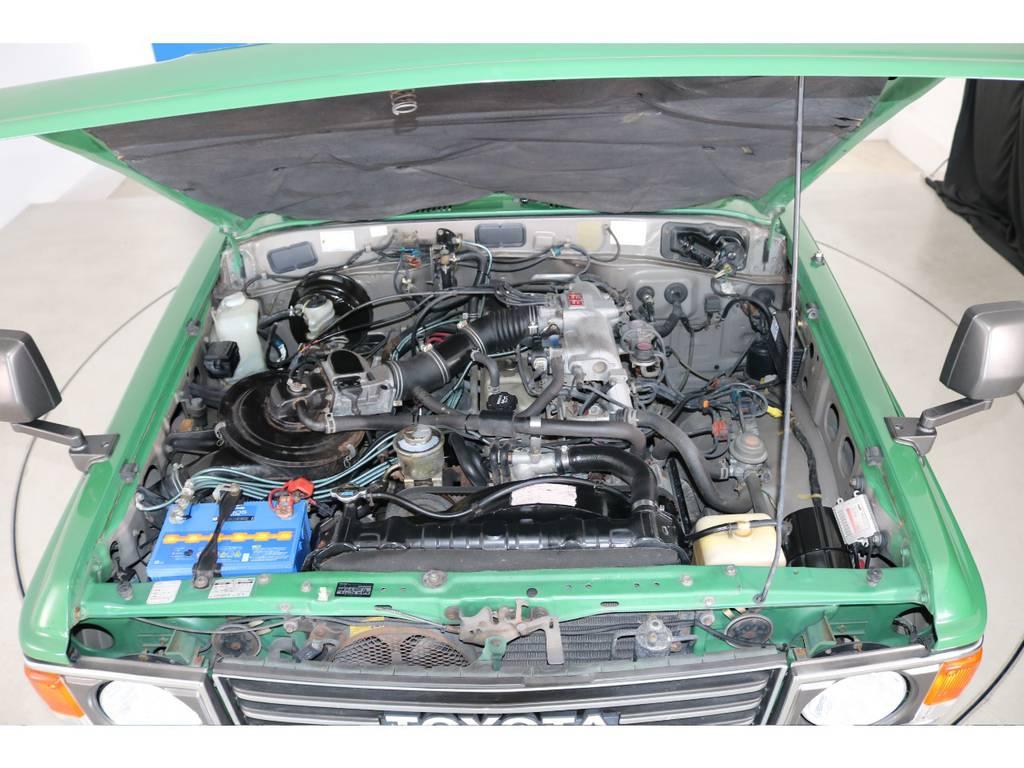 店舗敷地内に工場完備ですので車検から整備までお任せください。 | トヨタ ランドクルーザー60 4.0 VX ロールーフ角目 4WD ロールーフ オートマ SDナビ