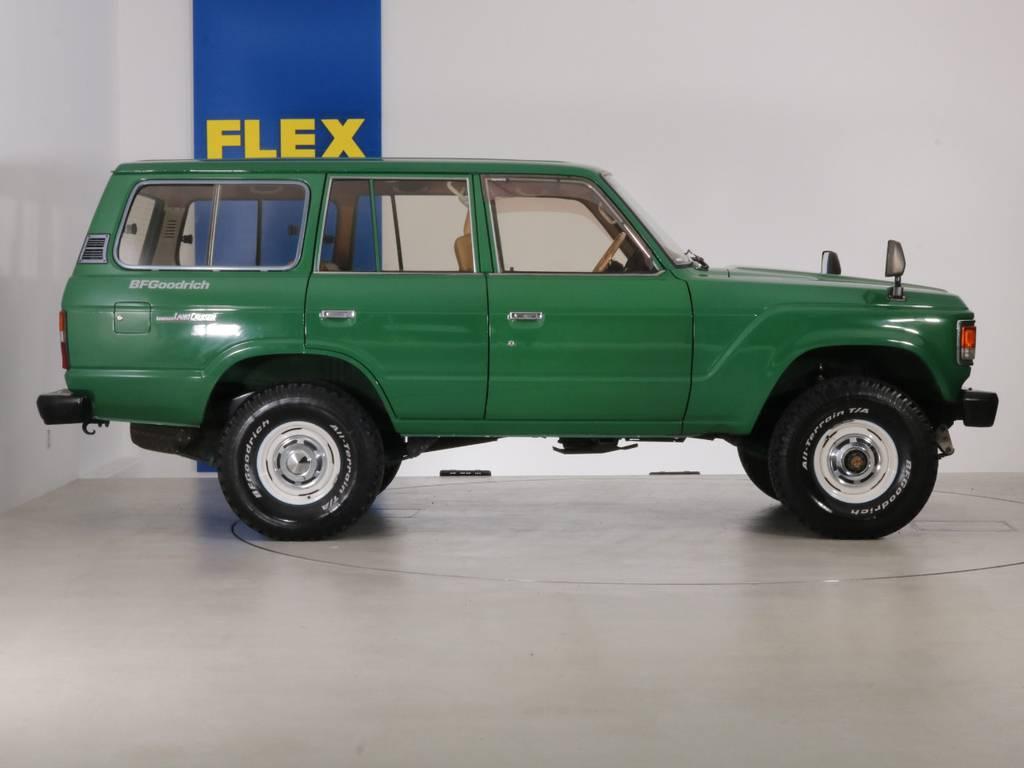 全国最大規模の店舗敷地内に在庫台数100台以上!ご希望に合った1台を探しにいらしてください。 | トヨタ ランドクルーザー60 4.0 VX ロールーフ角目 4WD ロールーフ オートマ SDナビ