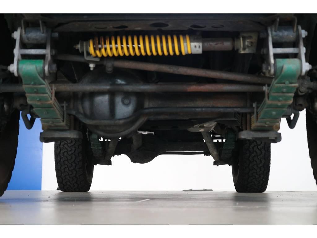 ご希望がございましたら下廻り防腐パスター仕上げもできます!お気軽にご相談ください! | トヨタ ランドクルーザー60 4.0 VX ロールーフ角目 4WD ロールーフ オートマ SDナビ