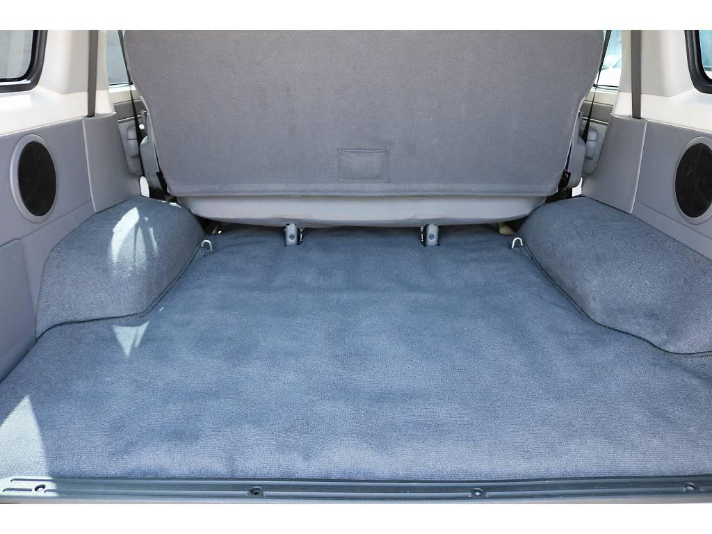 広々したラゲッジルーム!大容量でキャンプ用品なども沢山収容できます! | トヨタ ランドクルーザー70 4.0 4WD 30thアニバーサリー
