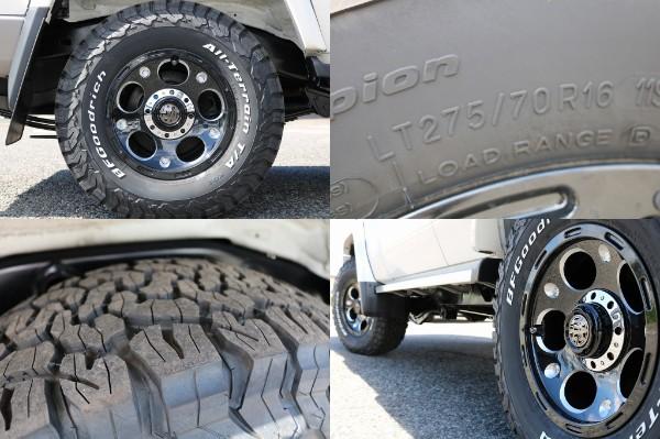 新品MG16インチAW&BF265ATタイヤ! | トヨタ ランドクルーザー70 4.0 4WD 30thアニバーサリー