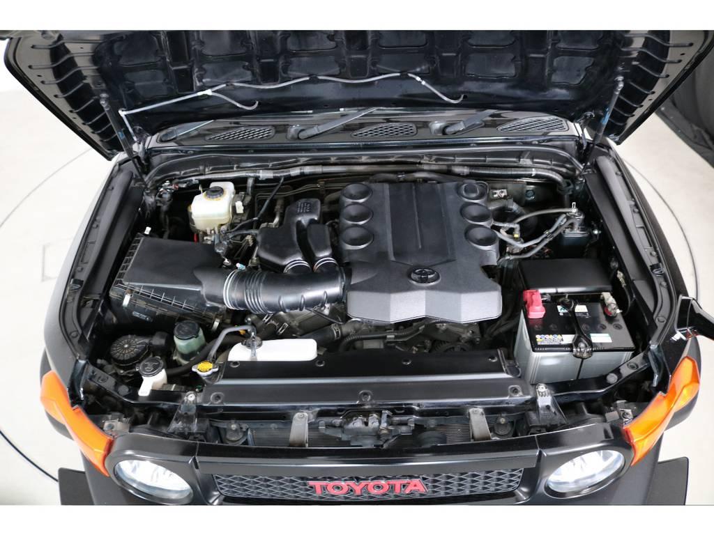 店舗敷地内に工場完備ですので車検から整備までお任せください。 | トヨタ FJクルーザー 4.0 4WD SDナビ バックカメラ