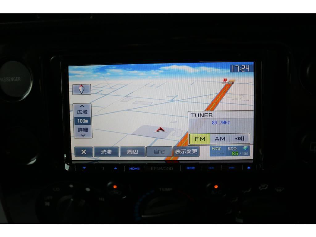 SDナビも装着済みですのでそのままお使いいただけます! | トヨタ FJクルーザー 4.0 4WD SDナビ バックカメラ
