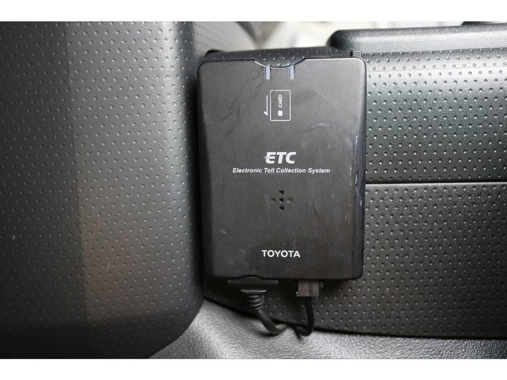 必需品のETCも完備! | トヨタ FJクルーザー 4.0 4WD SDナビ バックカメラ