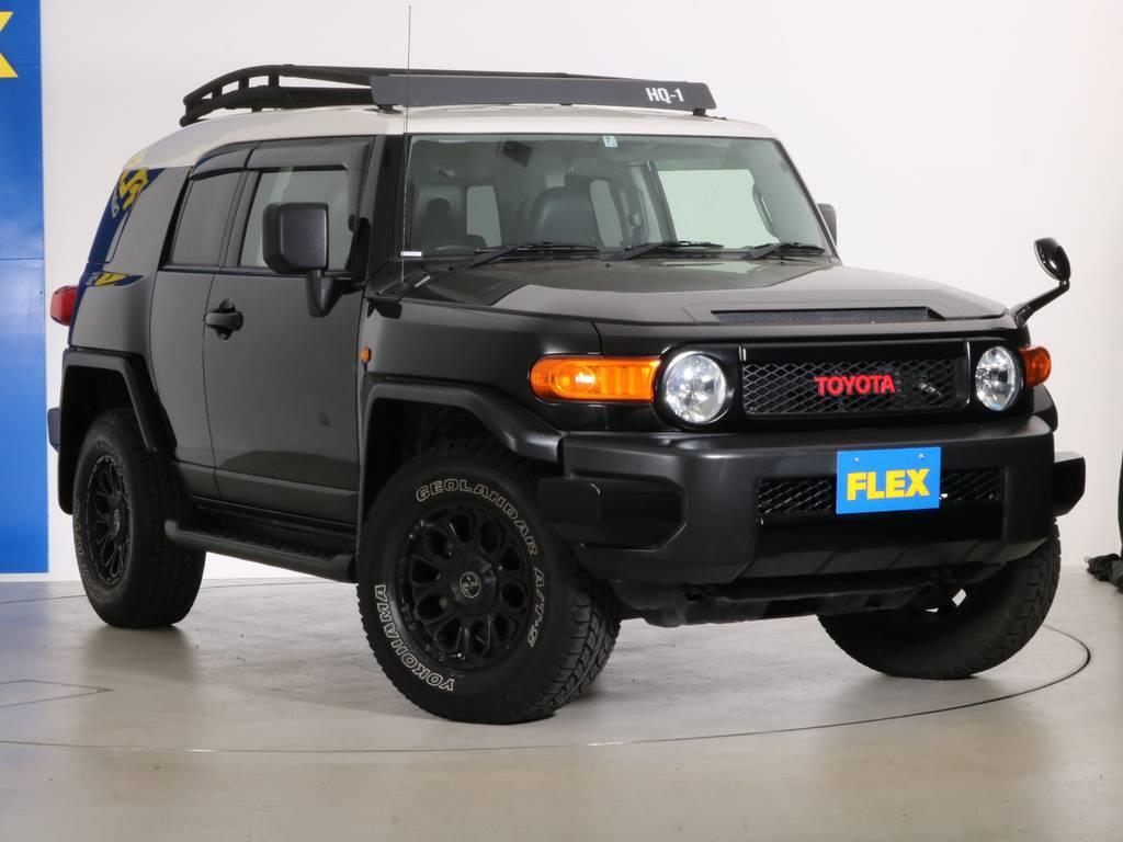 各種任意保険、オートローンも扱っておりますのでお気軽にご相談ください。 | トヨタ FJクルーザー 4.0 4WD SDナビ バックカメラ
