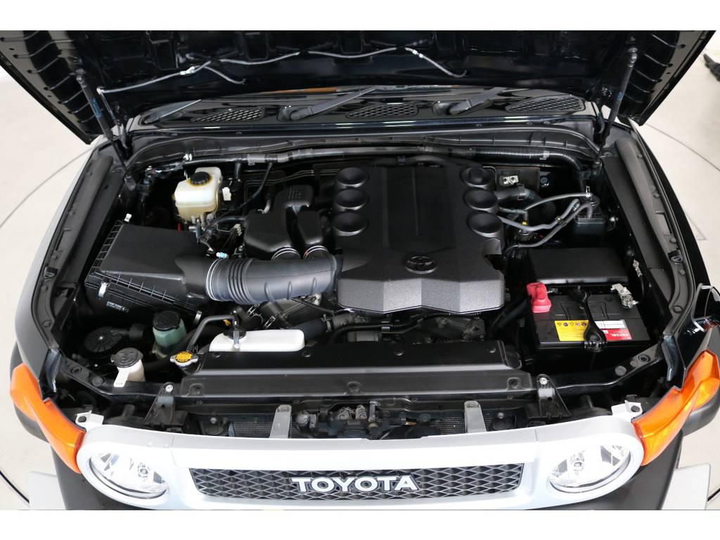 店舗敷地内に工場完備ですので車検から整備までお任せください。 | トヨタ FJクルーザー 4.0 カラーパッケージ 4WD 20インチAW HDDナビ