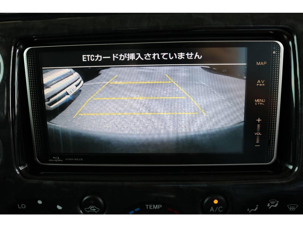 バックカメラも装着済みで安全後方視界! | トヨタ FJクルーザー 4.0 カラーパッケージ 4WD 20インチAW HDDナビ