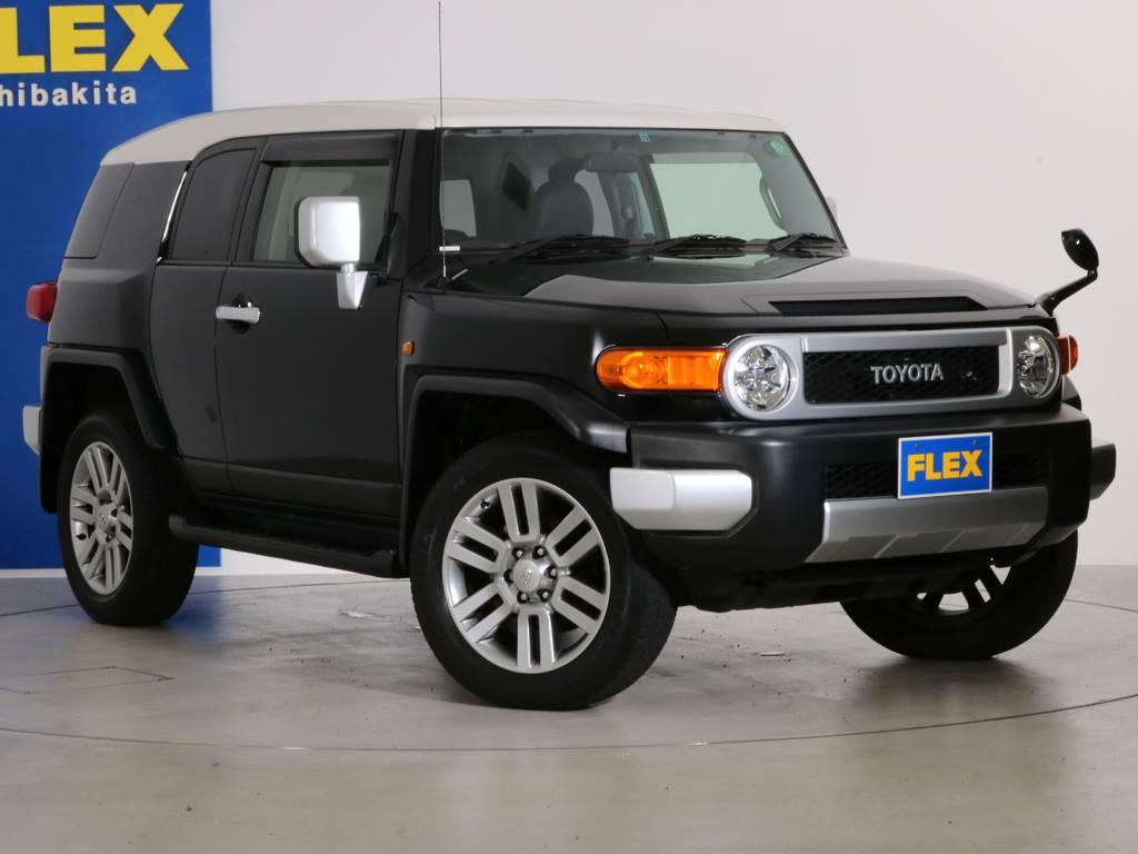 各種任意保険、オートローンも扱っておりますのでお気軽にご相談ください。 | トヨタ FJクルーザー 4.0 カラーパッケージ 4WD 20インチAW HDDナビ