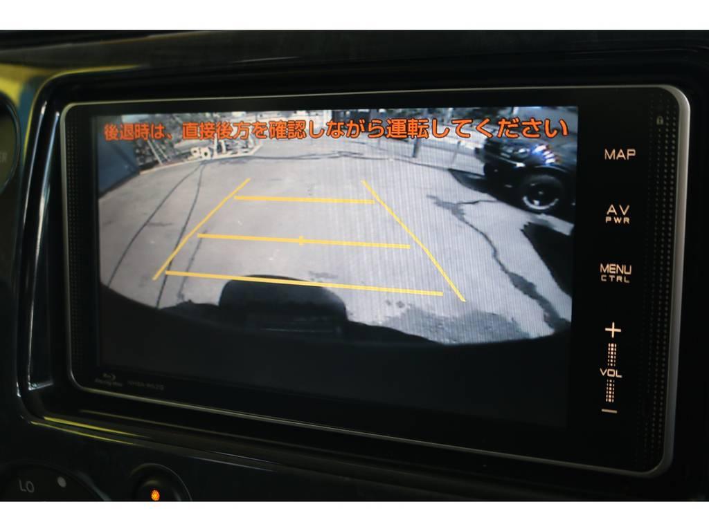 純正HDDナビにバックカメラ、ETC車載器も装着済です!ナビはブルーレイ対応です!