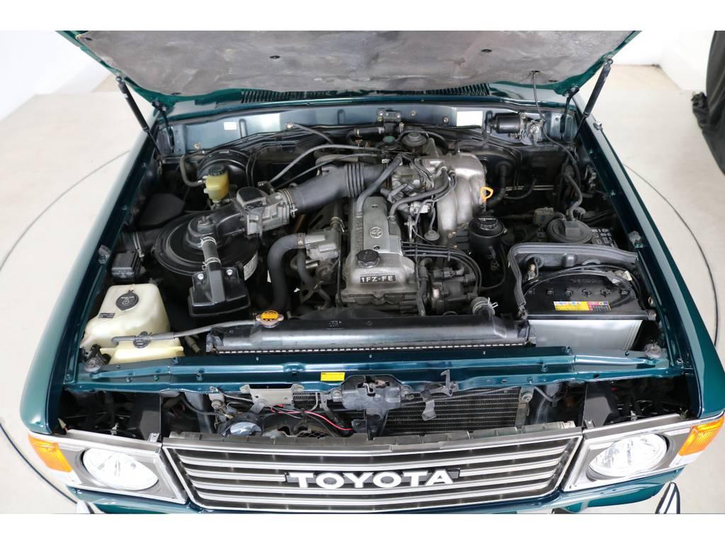 店舗敷地内に工場完備ですので車検から整備までお任せください。 | トヨタ ランドクルーザー80 4.5 VXリミテッド 4WD 『86』60フェイスチェンジ