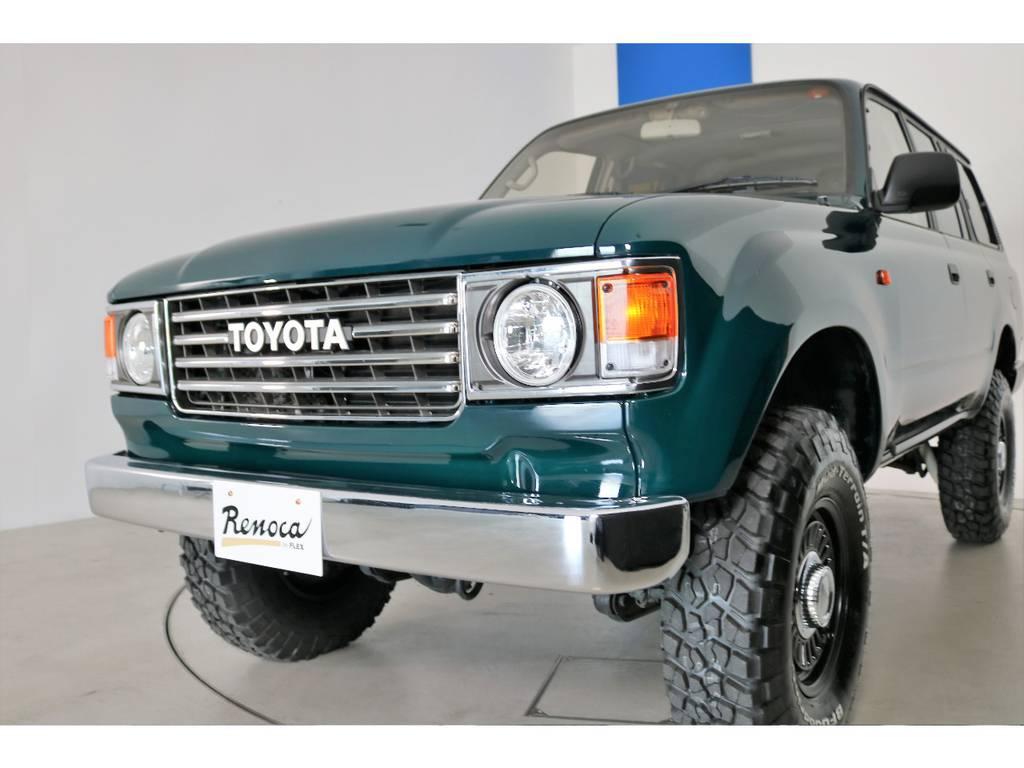 リノベーションでおしゃれにカスタム致しました! | トヨタ ランドクルーザー80 4.5 VXリミテッド 4WD 『86』60フェイスチェンジ