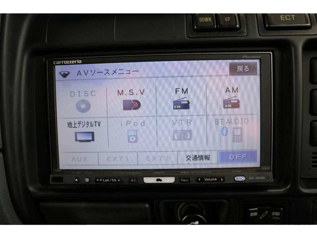 HDDナビも装着済み!お好きなオーディオもご相談ください! | トヨタ ランドクルーザー80 4.5 VXリミテッド 4WD 『86』60フェイスチェンジ