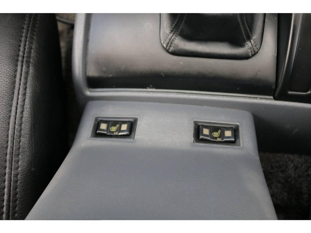 シートヒーターで快適ドライブ! | トヨタ ランドクルーザー80 4.5 VXリミテッド 4WD 『86』60フェイスチェンジ