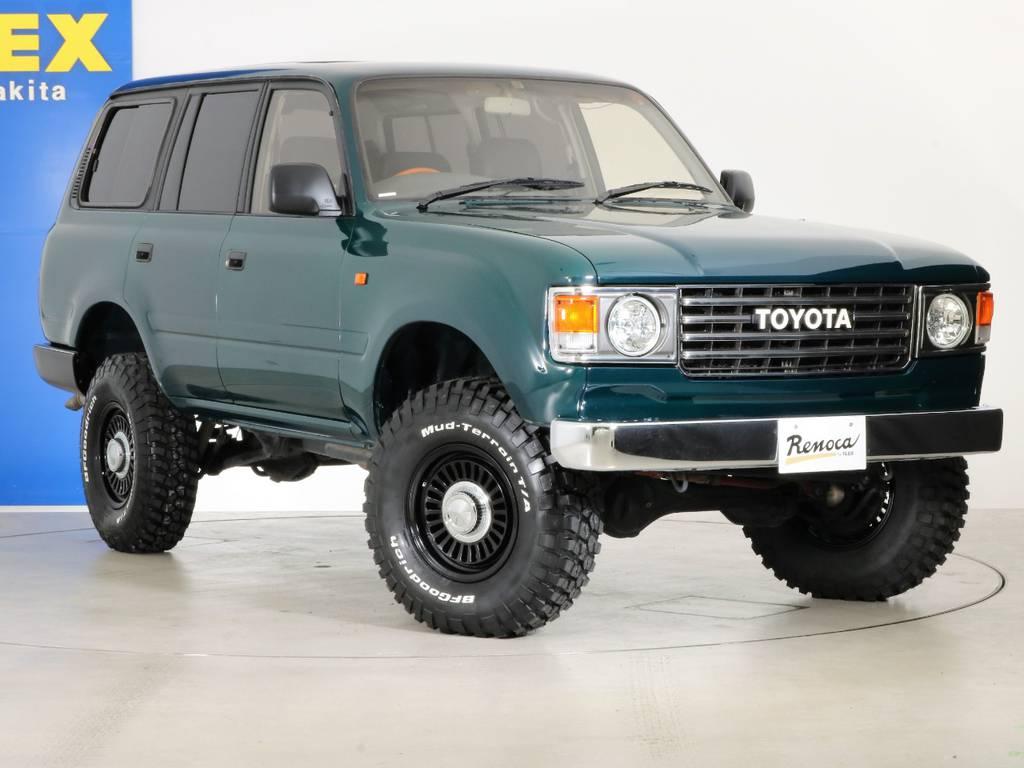 各種任意保険、オートローンも扱っておりますのでお気軽にご相談ください。 | トヨタ ランドクルーザー80 4.5 VXリミテッド 4WD 『86』60フェイスチェンジ