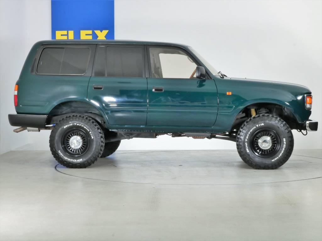 全国最大規模の店舗敷地内に在庫台数100台以上!ご希望に合った1台を探しにいらしてください。 | トヨタ ランドクルーザー80 4.5 VXリミテッド 4WD 『86』60フェイスチェンジ