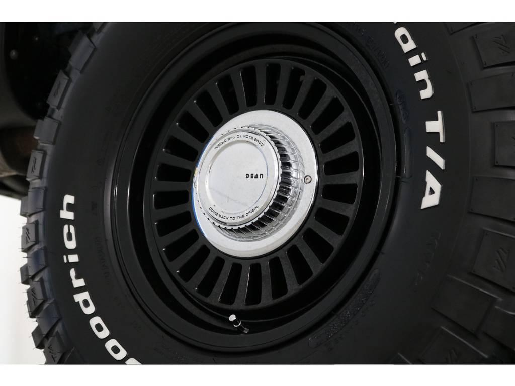 新品DEANカルフォルニア16インチホイール&新品BFグッドリッチMTタイヤを装着致しました!