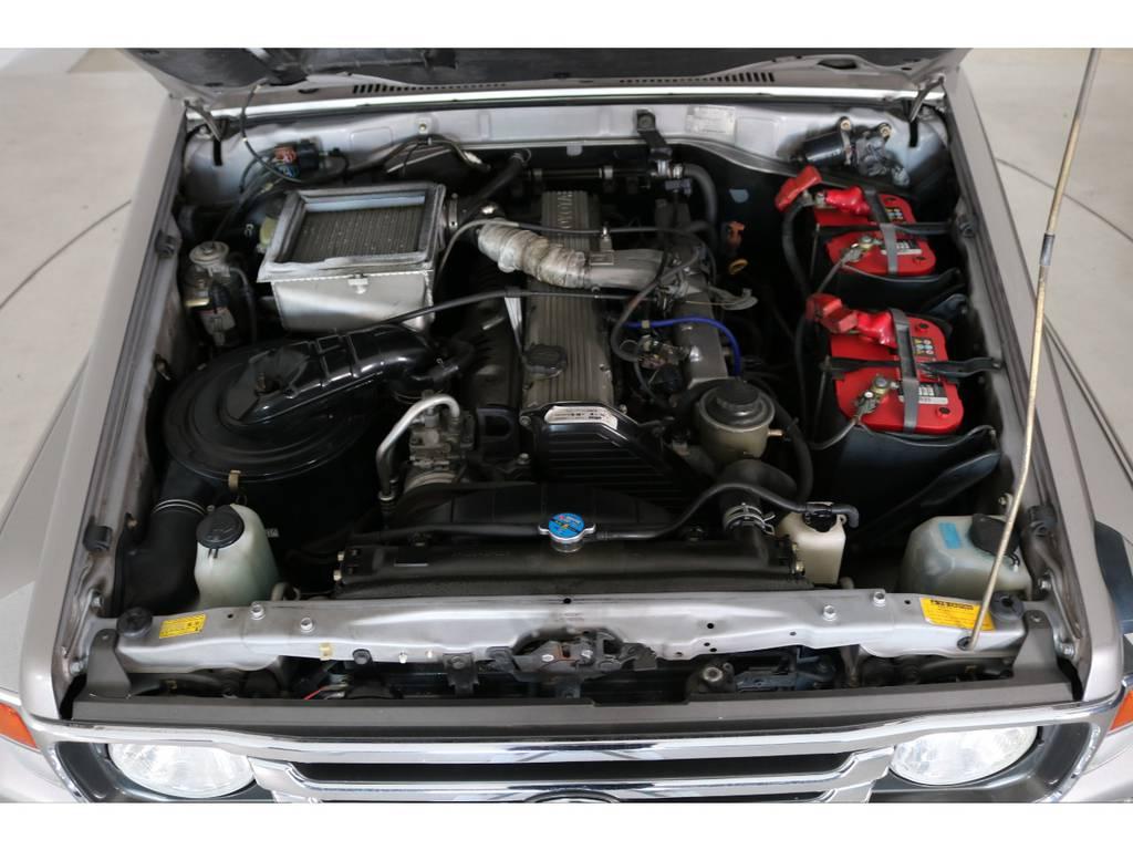 店舗敷地内に工場完備ですので車検から整備までお任せください。 | トヨタ ランドクルーザー70 4.2 ZX FRPトップ ディーゼル 4WD NOX・PM法適合車 2インチUP
