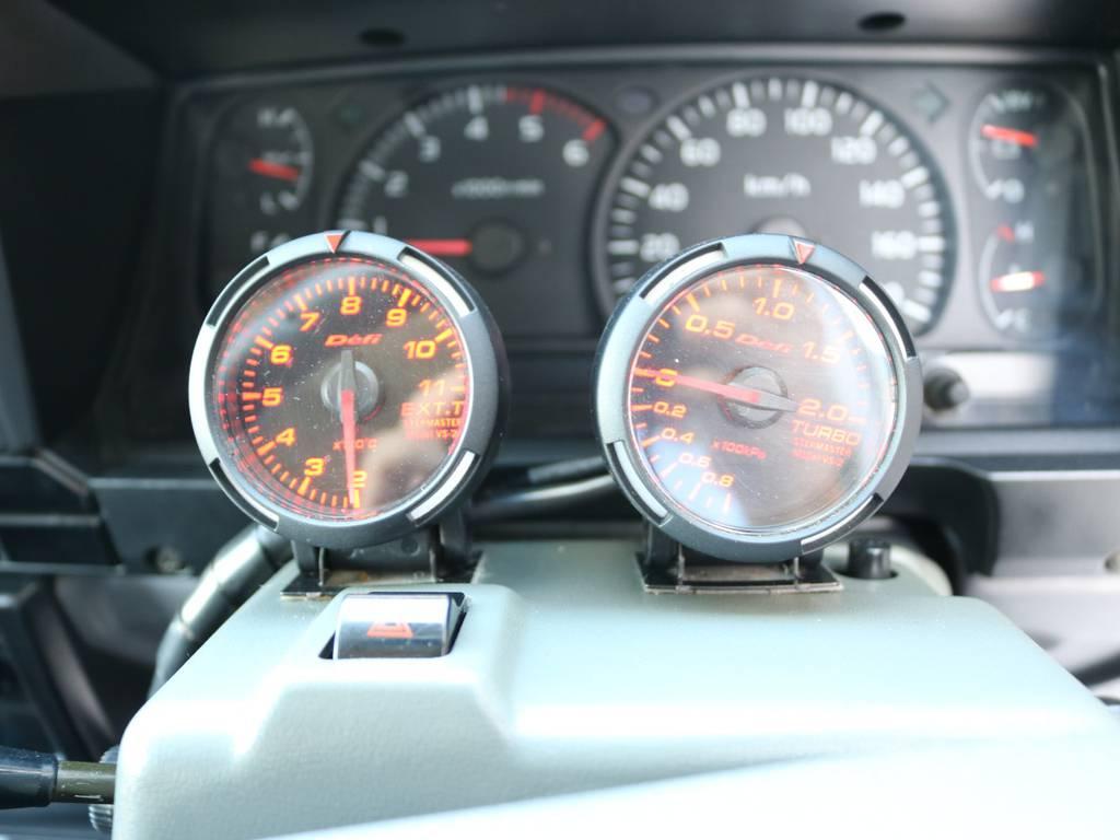 ターボ計も後付けで装着済み! | トヨタ ランドクルーザー70 4.2 ZX FRPトップ ディーゼル 4WD NOX・PM法適合車 2インチUP